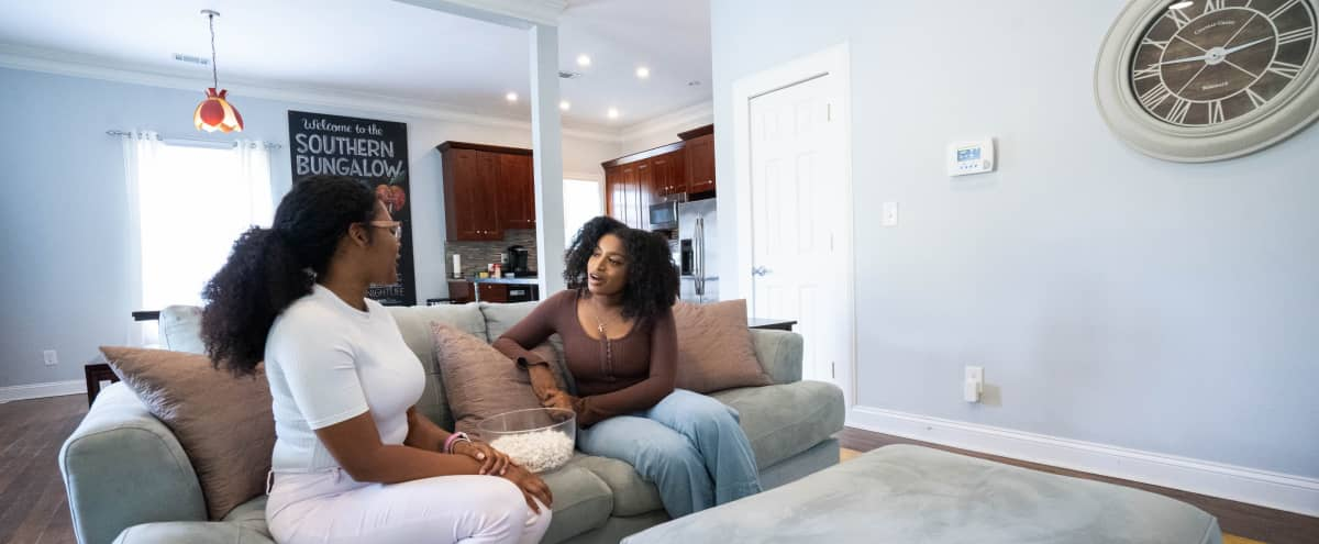Bright, Modern, Clean Farmhouse Bungalow! Great for Photoshoots, Interviews, TV, Film and Commercials in Atlanta Hero Image in West End, Atlanta, GA