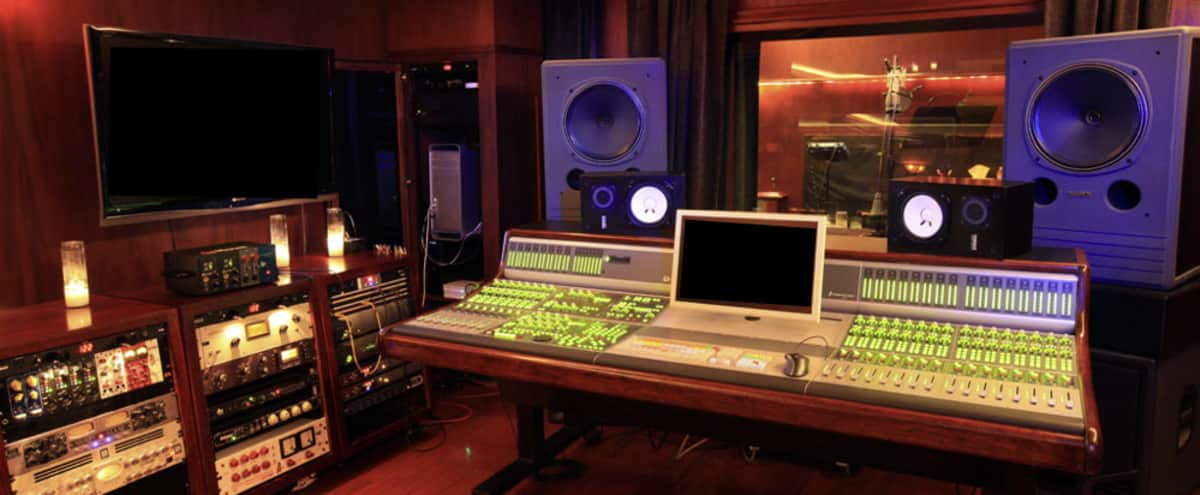 State of the art Recording Studio in West Hollywood in West Hollywood Hero Image in Central LA, West Hollywood, CA