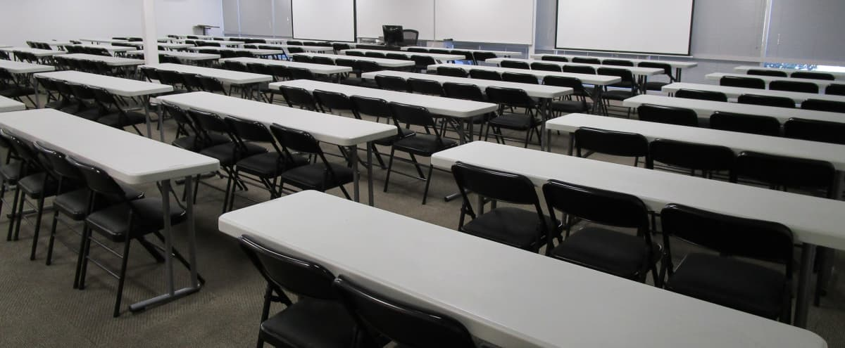 Large Multipurpose Classroom and Meeting Space in San Jose Hero Image in Berryessa, San Jose, CA