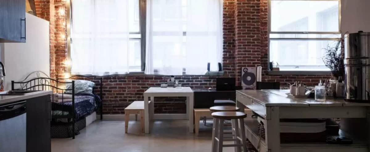 New York Style Downtown Loft in Los Angeles Hero Image in Historic Core, Los Angeles, CA