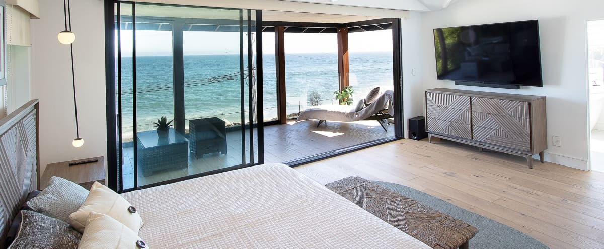 Marvelous Modern Malibu Ocean View House in Malibu Hero Image in Eastern Malibu, Malibu, CA