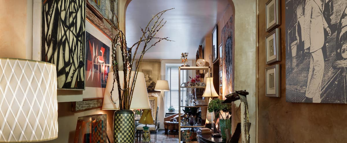 Historic Apartment Decorated with Vintage Furnishings and Decor in New York Hero Image in Midtown, New York, NY