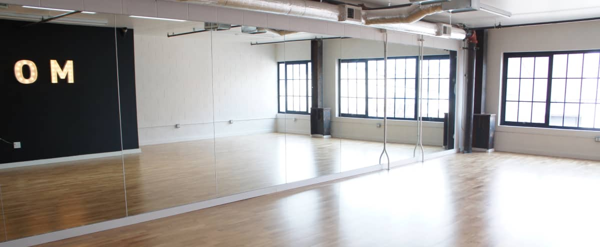 Bright Downtown Dance Studio in San Francisco Hero Image in SoMa, San Francisco, CA