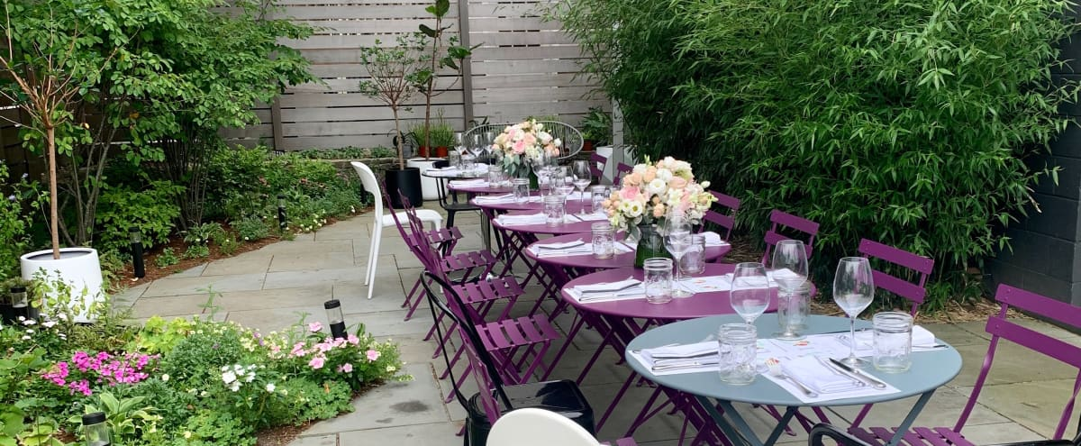 Modern Event Space with Private Garden in Cambridge Hero Image in Observatory Hill, Cambridge, MA