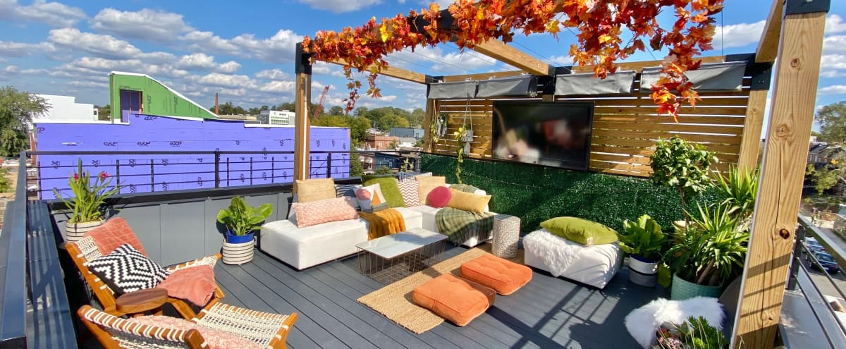 Private Rooftop Deck with Monument View (W/Heaters) in Washington Hero Image in Northeast Washington, Washington, DC