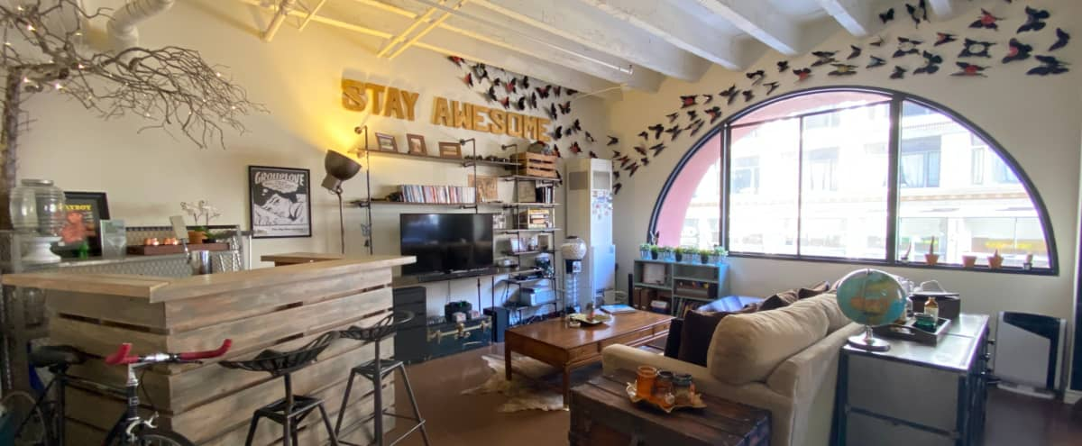 Fully Furnished Hip Artist's Loft in DTLA with Tons of Natural Light in Los Angeles, CA Hero Image in Central LA, Los Angeles, CA, CA
