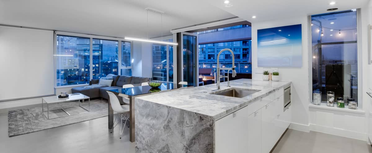 One-of-a-Kind Penthouse for Off-Site Meetings in Vancouver Hero Image in Downtown Vancouver, Vancouver, BC