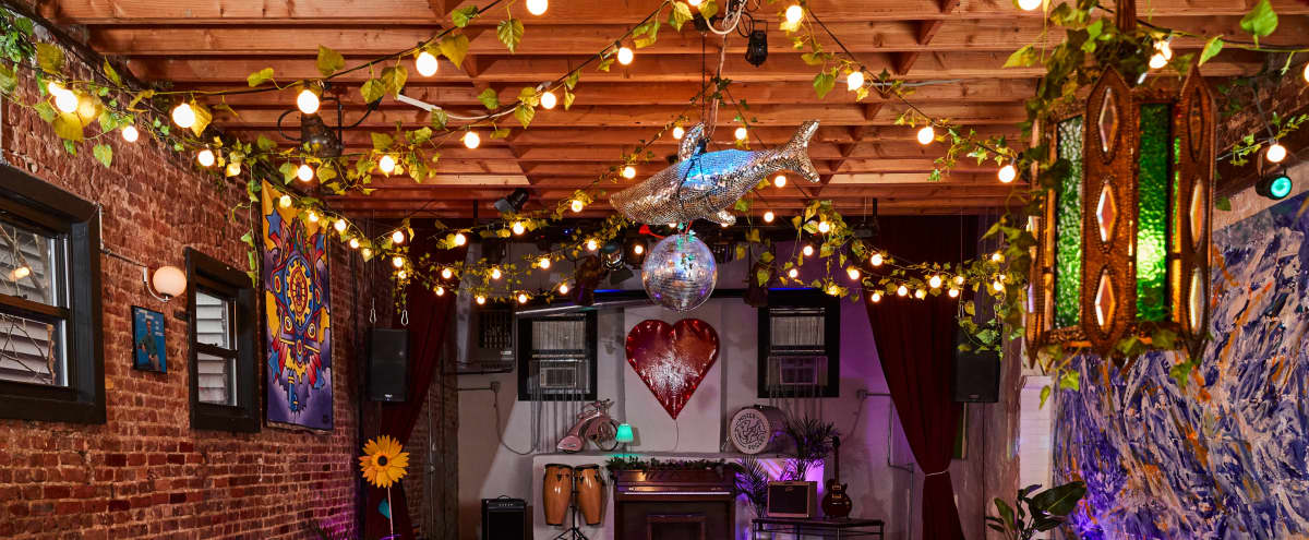 Magical Event Space with 70's Retro Future Decor. in Brooklyn Hero Image in Crown Heights, Brooklyn, NY