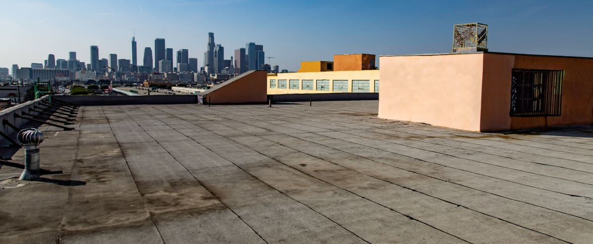 Rooftop With Creative Walls and Beautiful Skyline View in Los Angeles Hero Image in Downtown Los Angeles, Los Angeles, CA