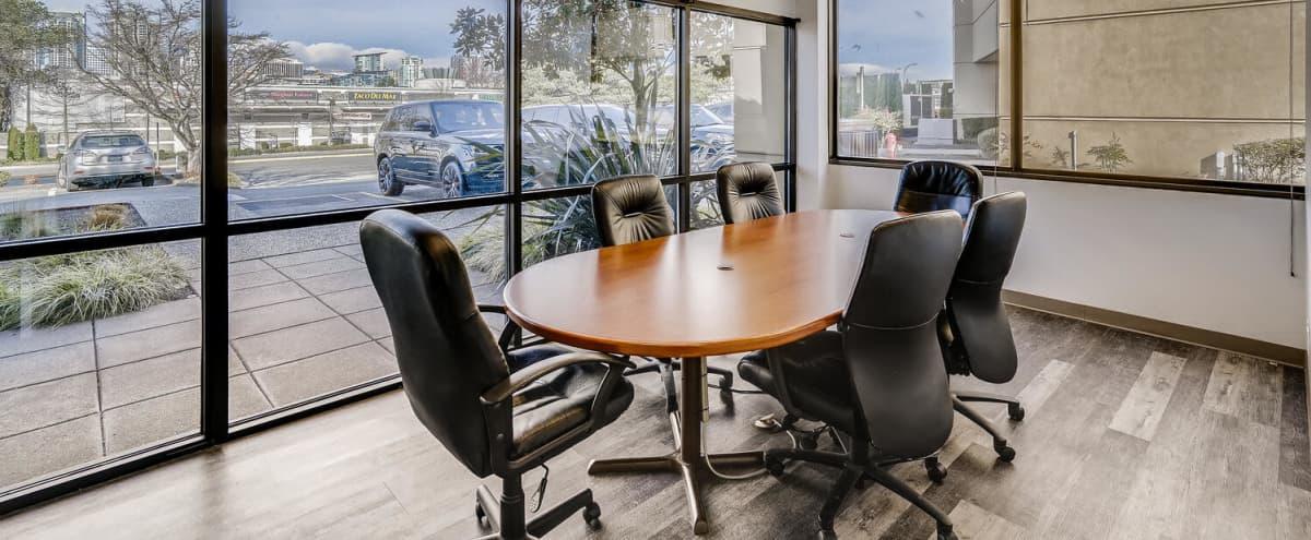 Executive Conference Room for Meetings in Bellevue Hero Image in Wilburton, Bellevue, WA