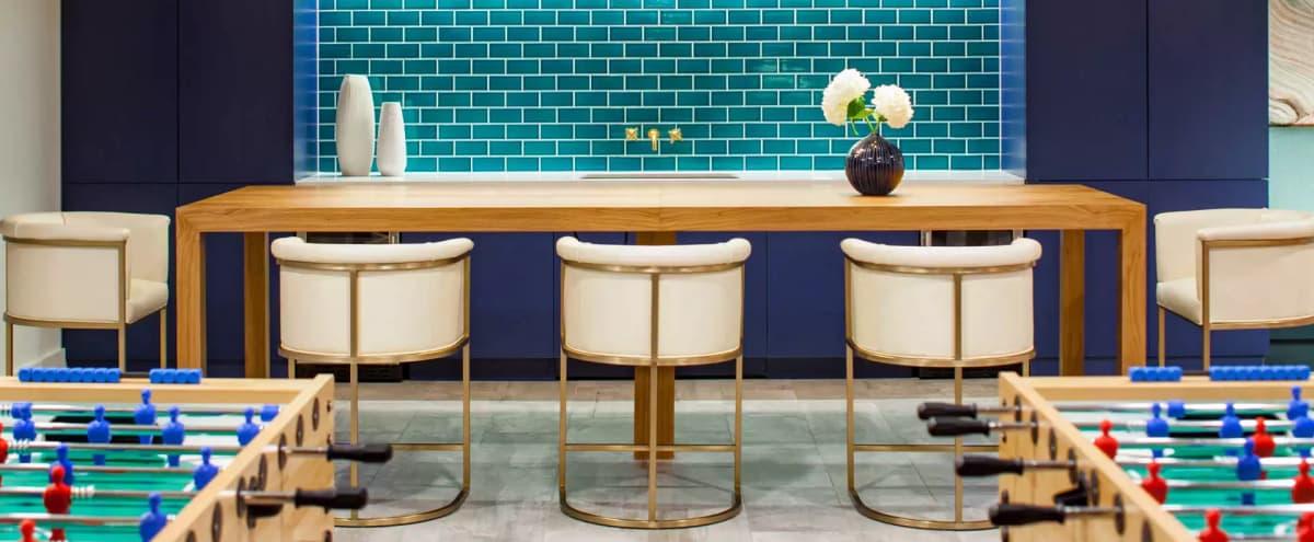Modern Onsite Party Room in Washington Hero Image in Cleveland Park, Washington, DC