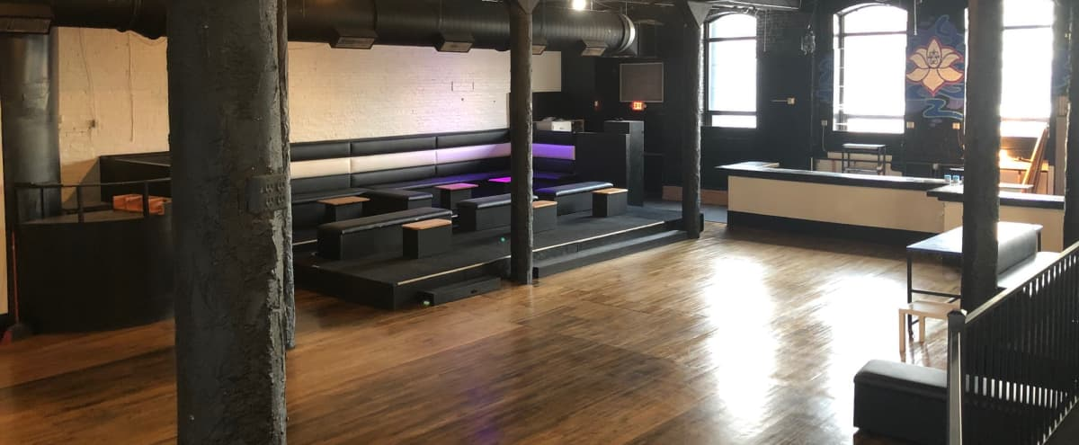 Large Event Space With VIP Area for Production Use in Minneapolis Hero Image in Central Minneapolis, Minneapolis, MN