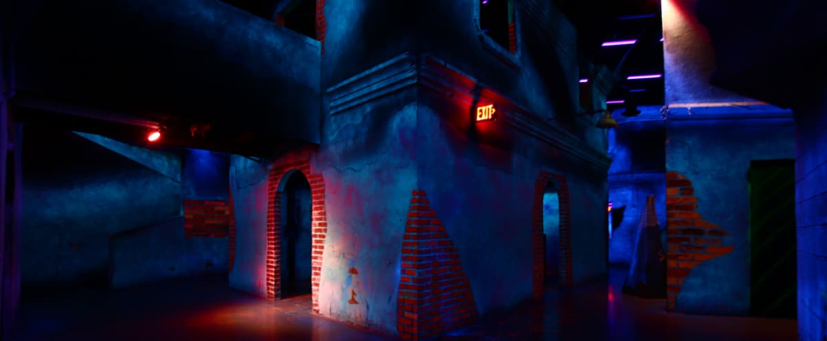 Creative Production Black Light Laser Tag Arena / Arcade & Client Lounge in Las Vegas Hero Image in The Lakes, Las Vegas, NV