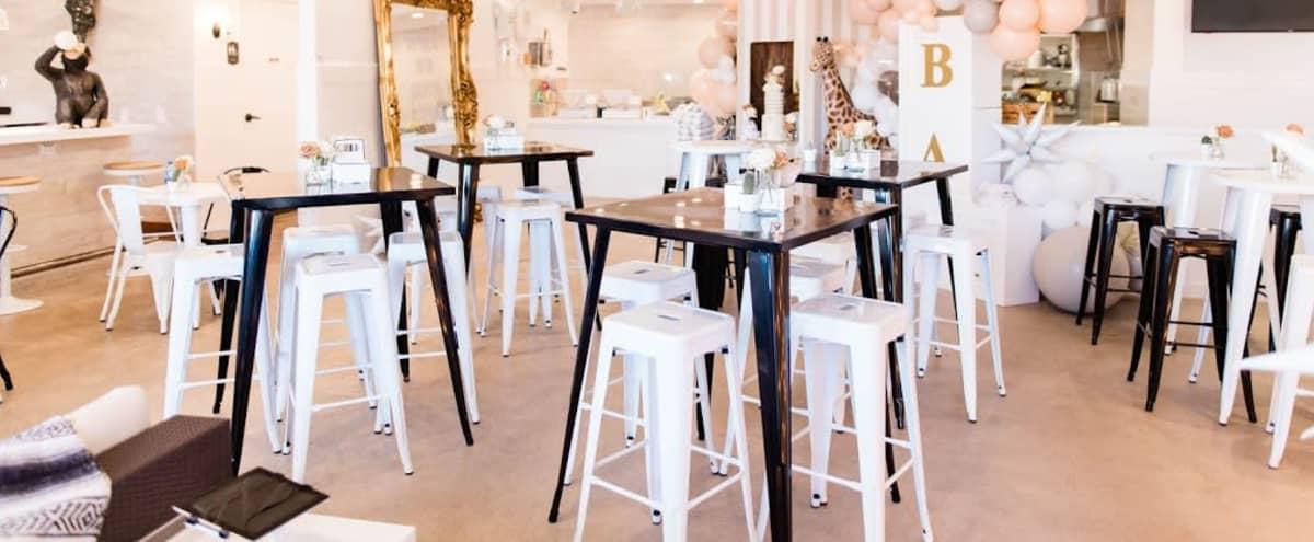 Chic White Modern Dallas Restaurant & Bar in Dallas Hero Image in undefined, Dallas, TX