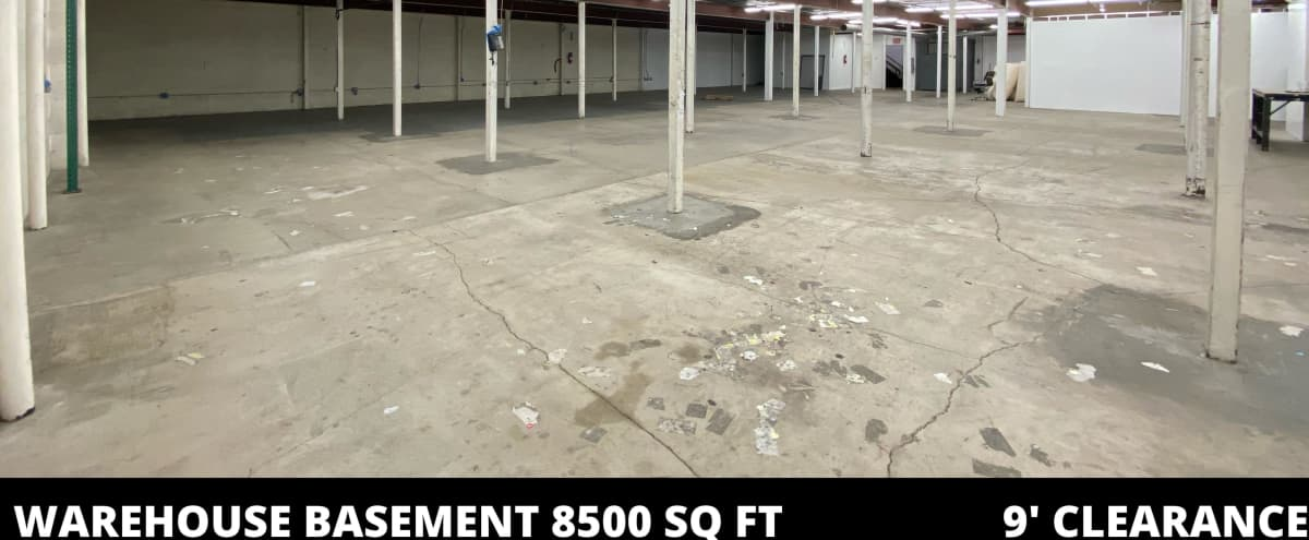 Huge Gated Warehouse with Parking & Loading Dock in Los Angeles Hero Image in South Los Angeles, Los Angeles, CA