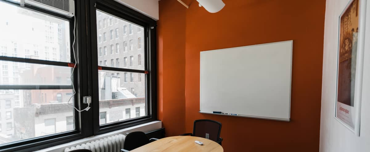 6-Person Private Conference/Classroom (#16) in New York Hero Image in Midtown, New York, NY