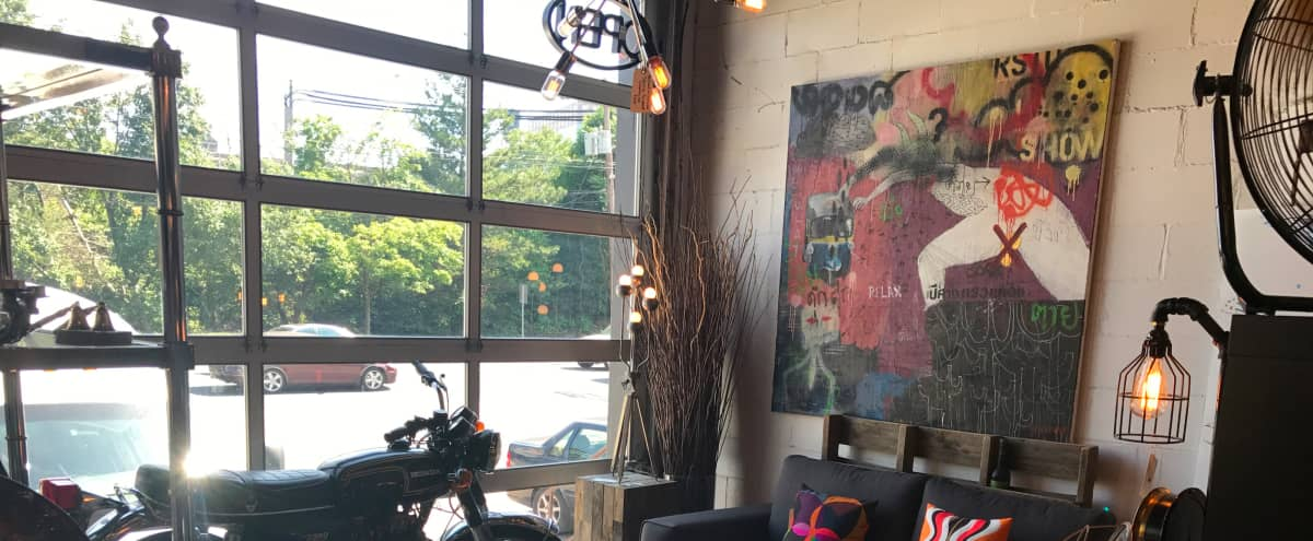 Large industrial renovated warehouse perfect for photo shoots/tv shows! Art gallery is perfect for pop up shows! in Hoboken Hero Image in undefined, Hoboken, NJ