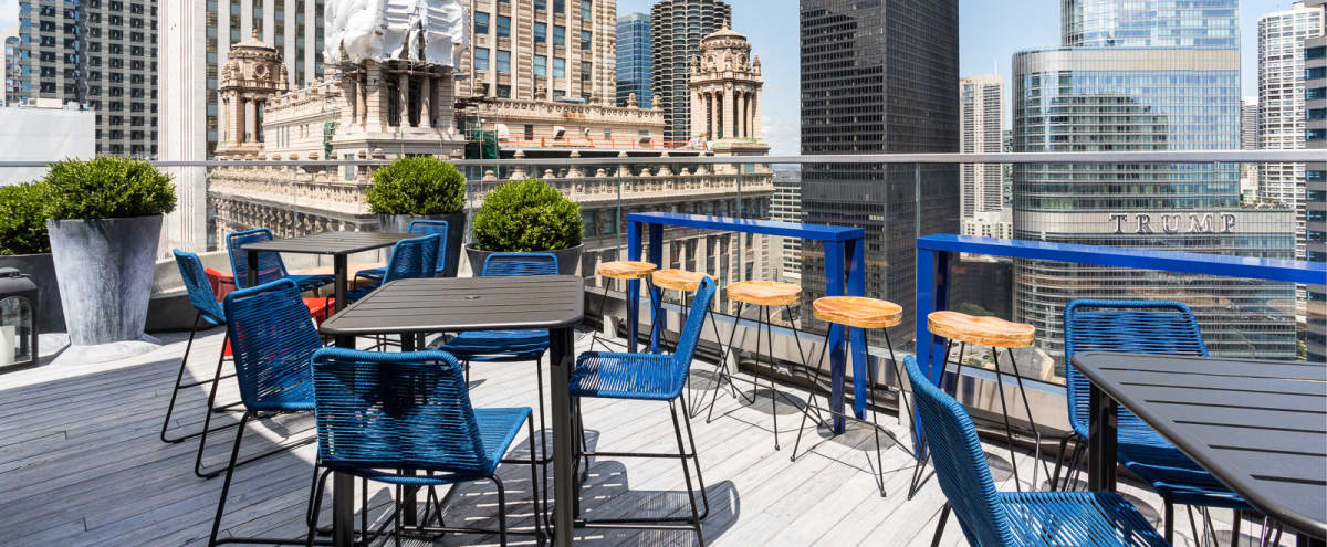 Historic Hotel - Trophy Room & Rooftop in Chicago Hero Image in The Loop, Chicago, IL