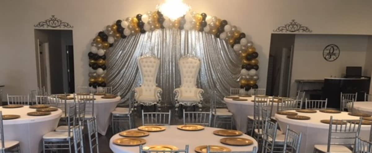 New Orleans inspired, Contemporary Event Space for Weddings, Parties, and Celebrations in Cypress Hero Image in Tealbrook, Cypress, TX