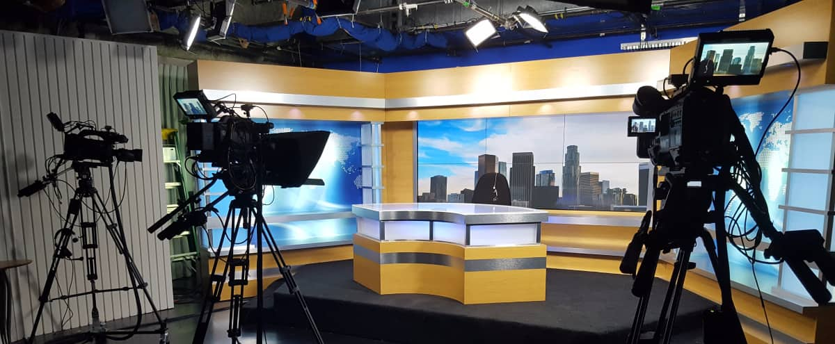 Broadcasting Room w/ Multiple Set Options in Los Angeles Hero Image in Central LA, Los Angeles, CA