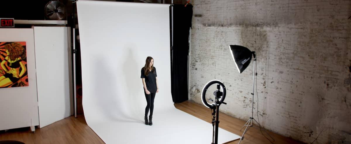 1K sq ft Massive Ground Floor Photo Studio/Magnificent Rooms/Equipment (Parking Lot) in Hoboken Hero Image in undefined, Hoboken, NJ