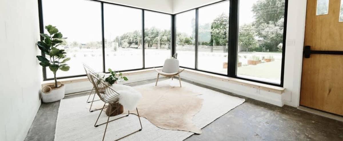 Mid-Century Modern Natural Light Photo/Video Studio in Richardson Hero Image in undefined, Richardson, TX