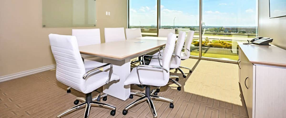 Conference Room with Large Floor to Ceiling Windows in McKinney Hero Image in undefined, McKinney, TX