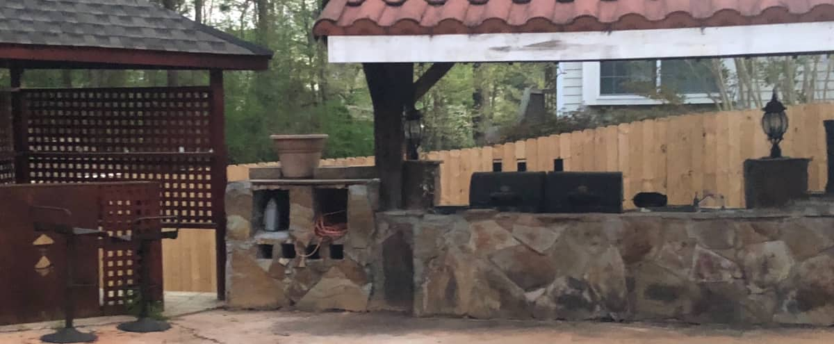 Relaxing Back Yard with Pool! in Stockbridge Hero Image in undefined, Stockbridge, GA