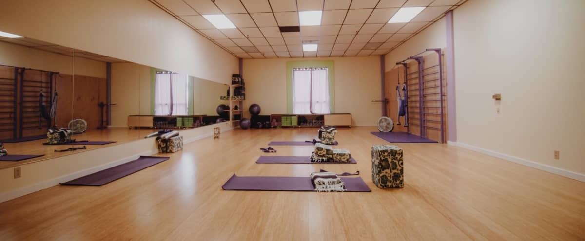 Private Yoga, Dance and Fitness Studio for Film Shoot in Long Beach Hero Image in Los Altos, Long Beach, CA