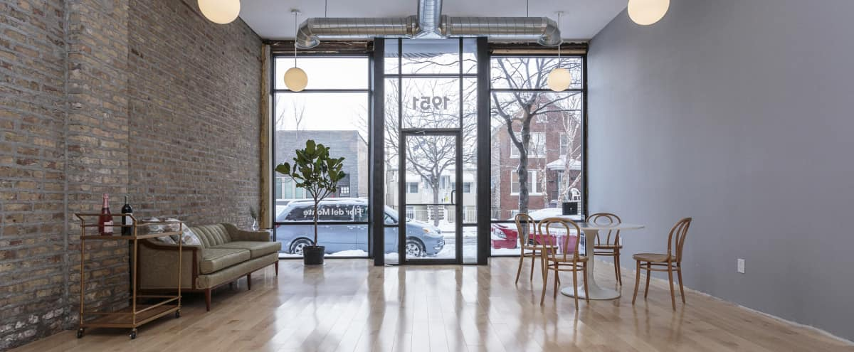 Modern Pilsen Studio Space w/ Exposed Brick & High Ceilings in Chicago Hero Image in Lower West Side, Chicago, IL