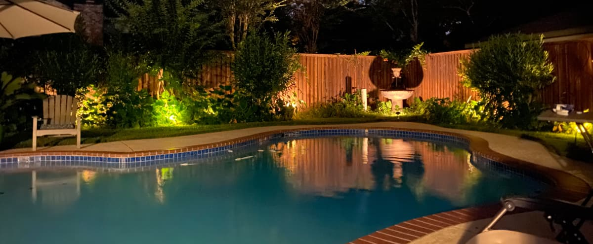 Re-modeled 1970's Custom-built Home with Swimming Pool in Houston Hero Image in Norchester, Houston, TX