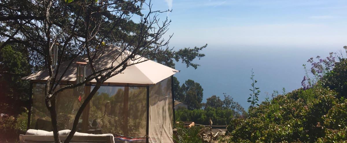 Boho Style Mid Century Ocean View Home in Malibu Hero Image in Eastern Malibu, Malibu, CA