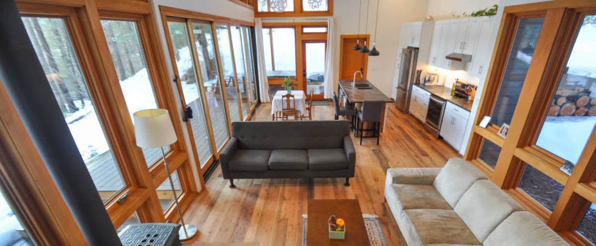New Modern Home in a Mountain Setting with Acreage & National Forest in Leavenworth Hero Image in undefined, Leavenworth, WA