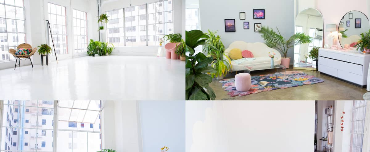 Dreamy clean loft with lots of windows ✨cute furniture! in Los Angeles Hero Image in Central LA, Los Angeles, CA