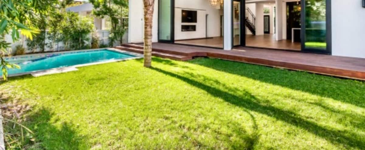 Lux West Hollywood House: Grand Space, Open Floor & Beautiful Outdoor Pool Patio in Los Angeles Hero Image in West Hollywood, Los Angeles, CA