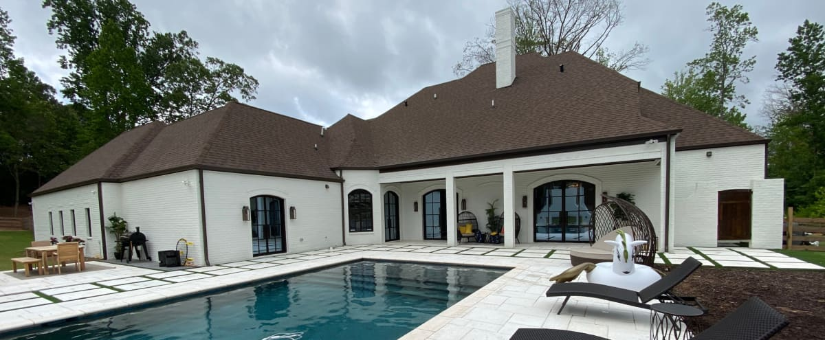 Exclusive Pool!! Super Private, Modern with a twist of Rustic in Buford Hero Image in undefined, Buford, GA