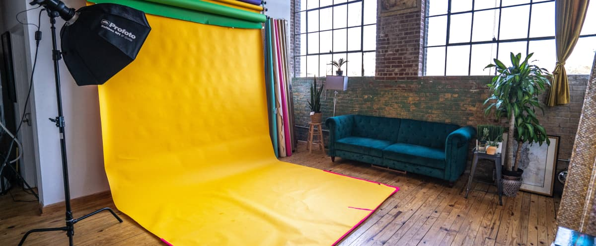 Downtown Loft Space with Lots of Natural Light in Atlanta Hero Image in Oakland, Atlanta, GA