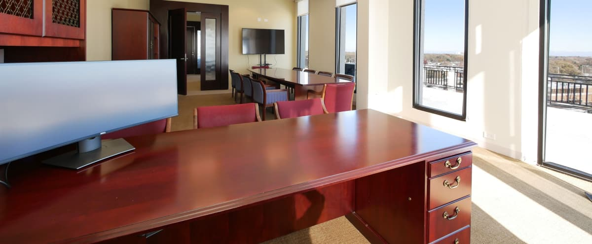 Rooftop President Office w/ Meeting room for 10+ guests in Rolling Meadows Hero Image in undefined, Rolling Meadows, IL