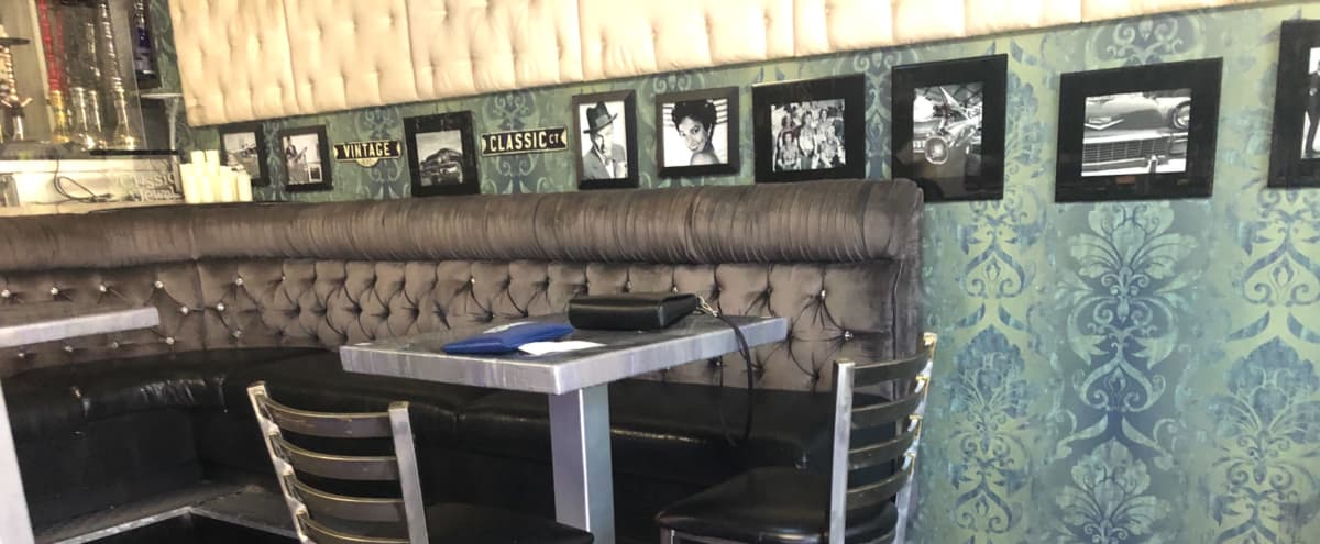 Downtown Las Vegas, Luxurious Upscale Bar and Lounge with Stage and Patio Seating in Las Vegas Hero Image in Downtown Las Vegas, Las Vegas, NV