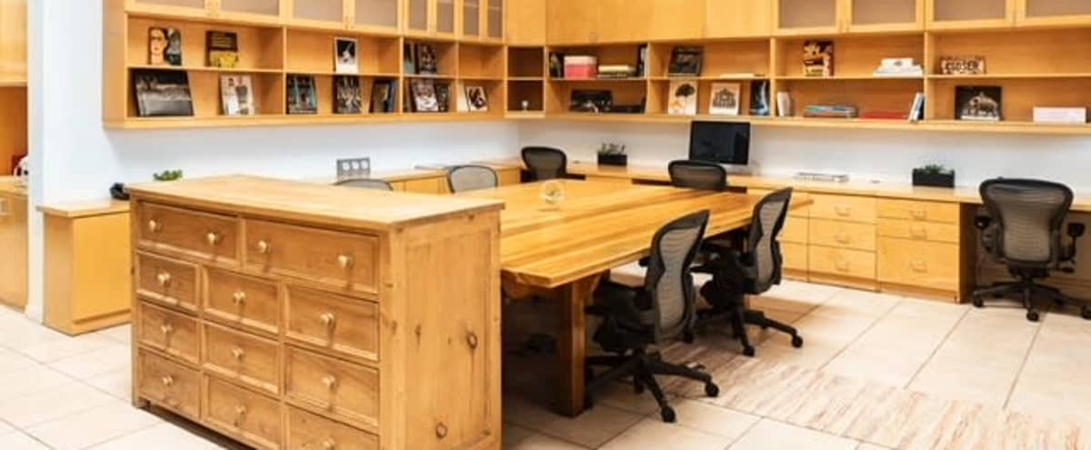 Co-working Desk Spaces In West Hollywood in Los Angeles Hero Image in Central LA, Los Angeles, CA