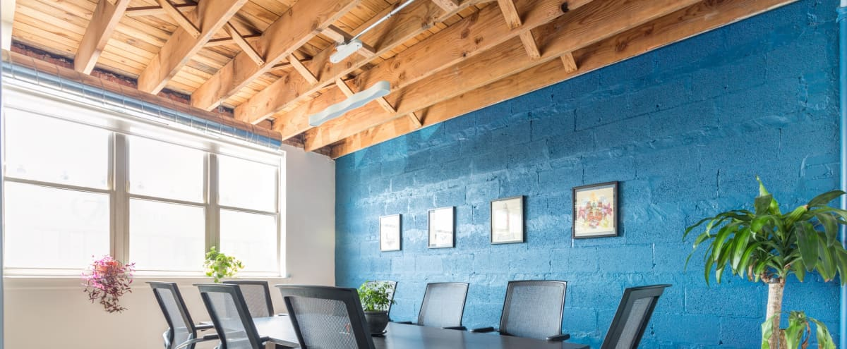 Light-Filled Private Room for Production Events in Chicago Hero Image in Logan Square, Chicago, IL