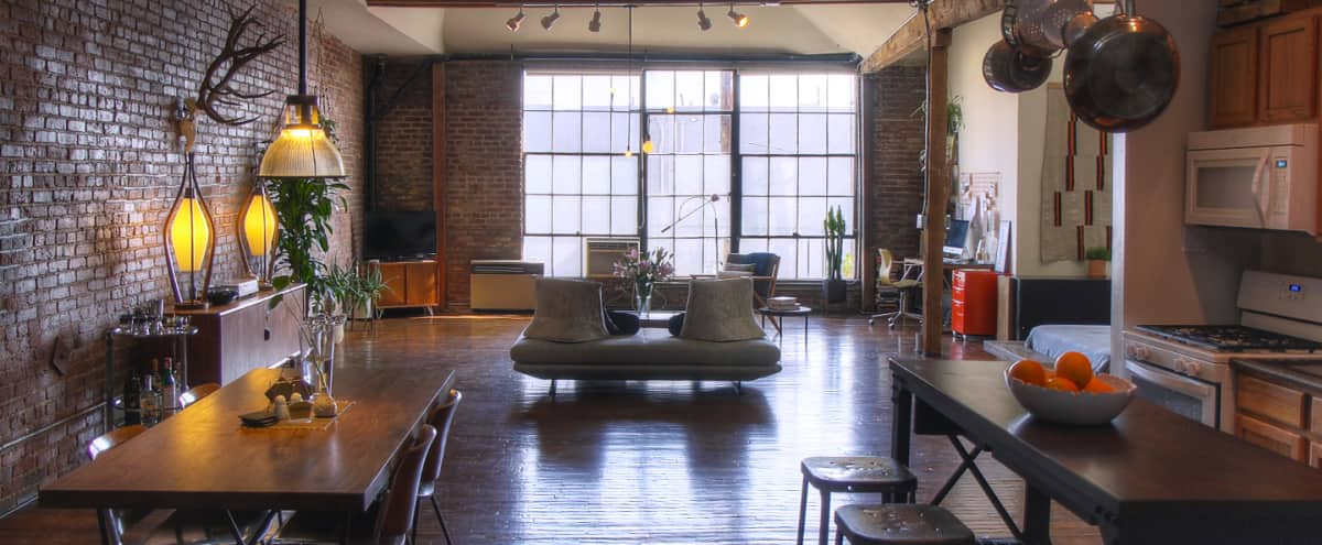 Downtown Industrial Loft with Great Lighting & Brick Walls in Los Angeles Hero Image in Central LA, Los Angeles, CA