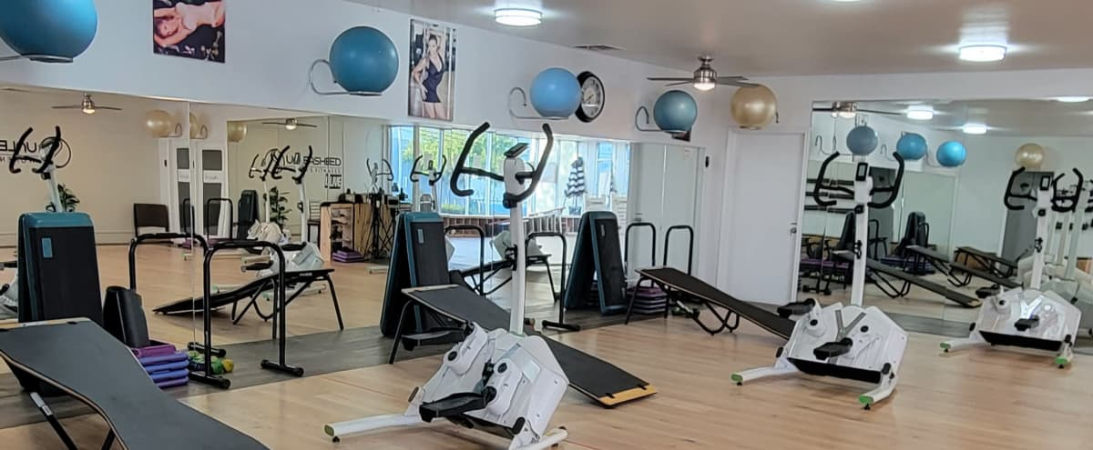 Fitness Studio Perfect for Teaching Small Classes or Recording Live Stream classes. in Signal Hill Hero Image in undefined, Signal Hill, CA