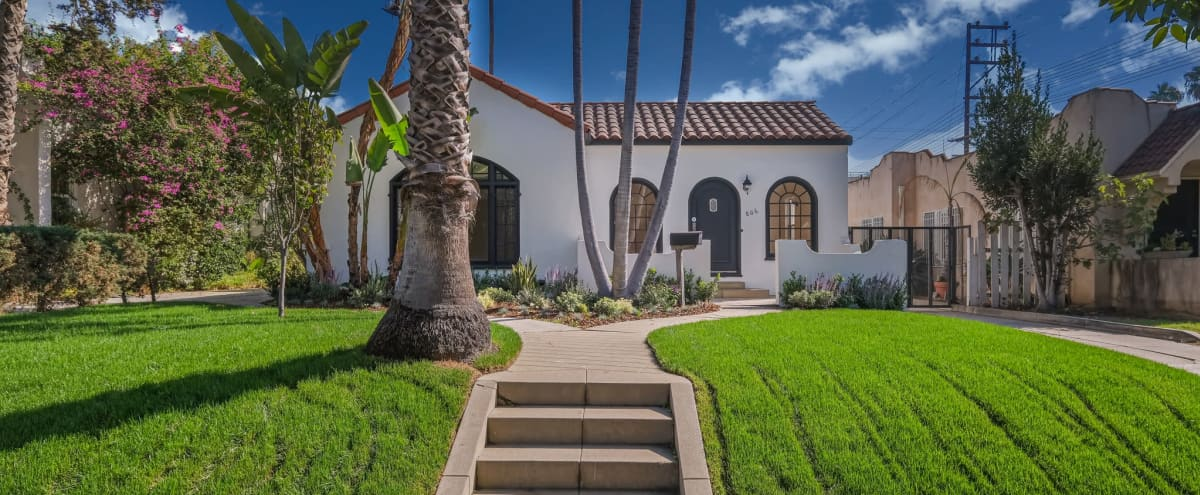 Entire Property** Private Spanish Duplex in Prime West Hollywood with Guest House in Los Angeles Hero Image in Central LA, Los Angeles, CA