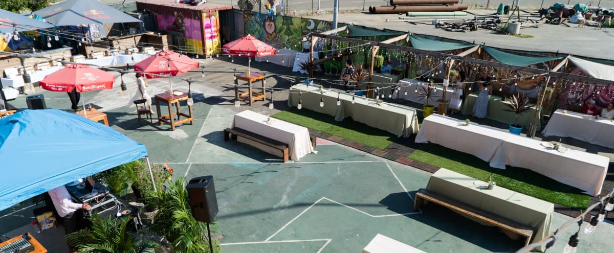 Spacious Warehouse Venue with Full Bar and Outside Patio in Oakland Hero Image in Prescott, Oakland, CA