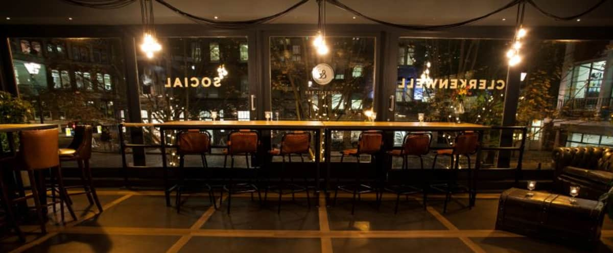 Literary themed mixology house and events space in London Hero Image in Clerkenwell, London,