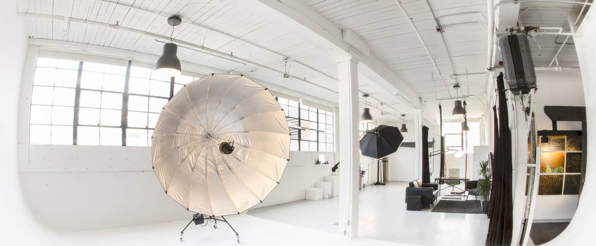 Spacious Fully Equipped Daylight Photo Studio located in Sodo in Seattle Hero Image in SODO, Seattle, WA