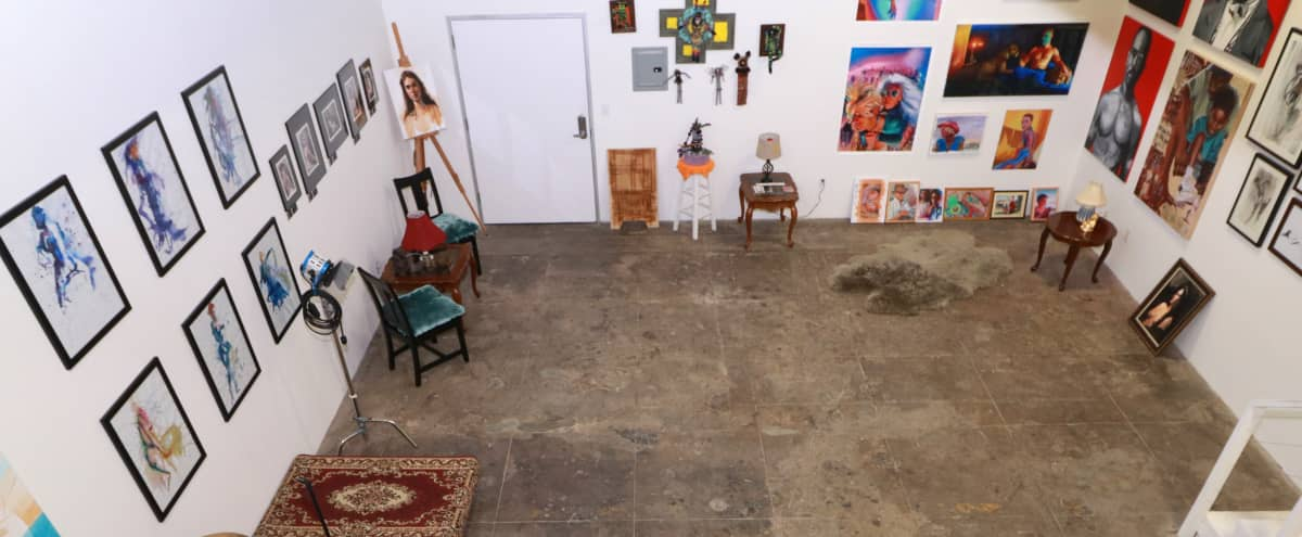Downtown L.A. Off-Site Art Lounge in Los Angeles Hero Image in Central LA, Los Angeles, CA