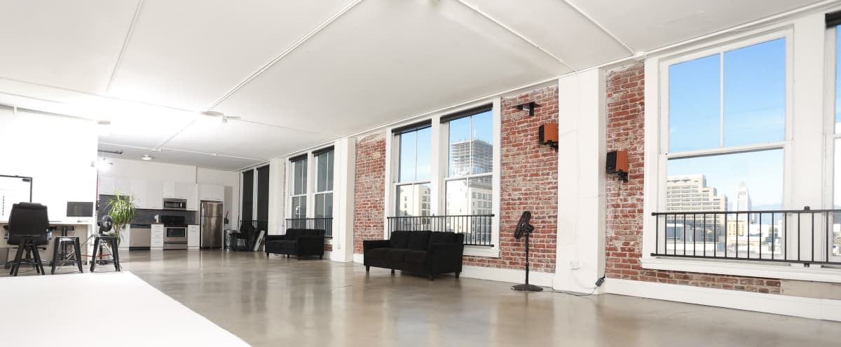 Amazing Downtown Studio Suite with Skyline Views and Rooftop in Los Angeles Hero Image in Downtown, Los Angeles, CA
