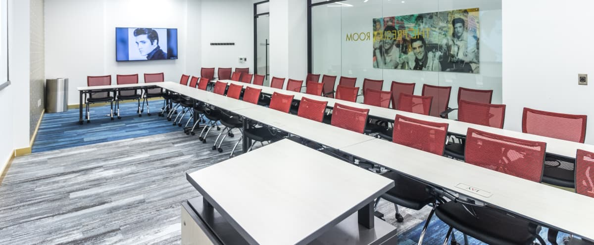 The Presley Room- Brand New Modern 75 person Meeting Space in New York Hero Image in Midtown Manhattan, New York, NY